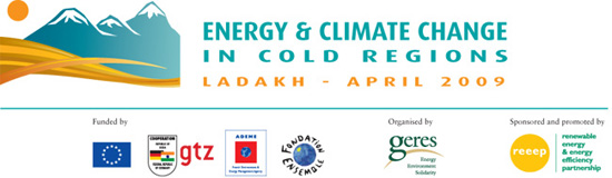 Energy & Climate change in cold regions